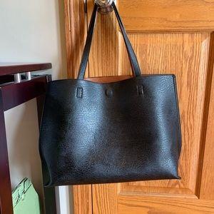 Handbags - Basic black/brown tote